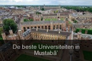 De beste Universiteiten in Mustabā' (Stad)