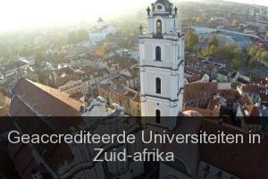 Geaccrediteerde Universiteiten in Zuid-afrika