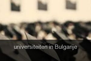 Universiteiten in Bulgarije