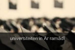 Universiteiten in Ar ramādī